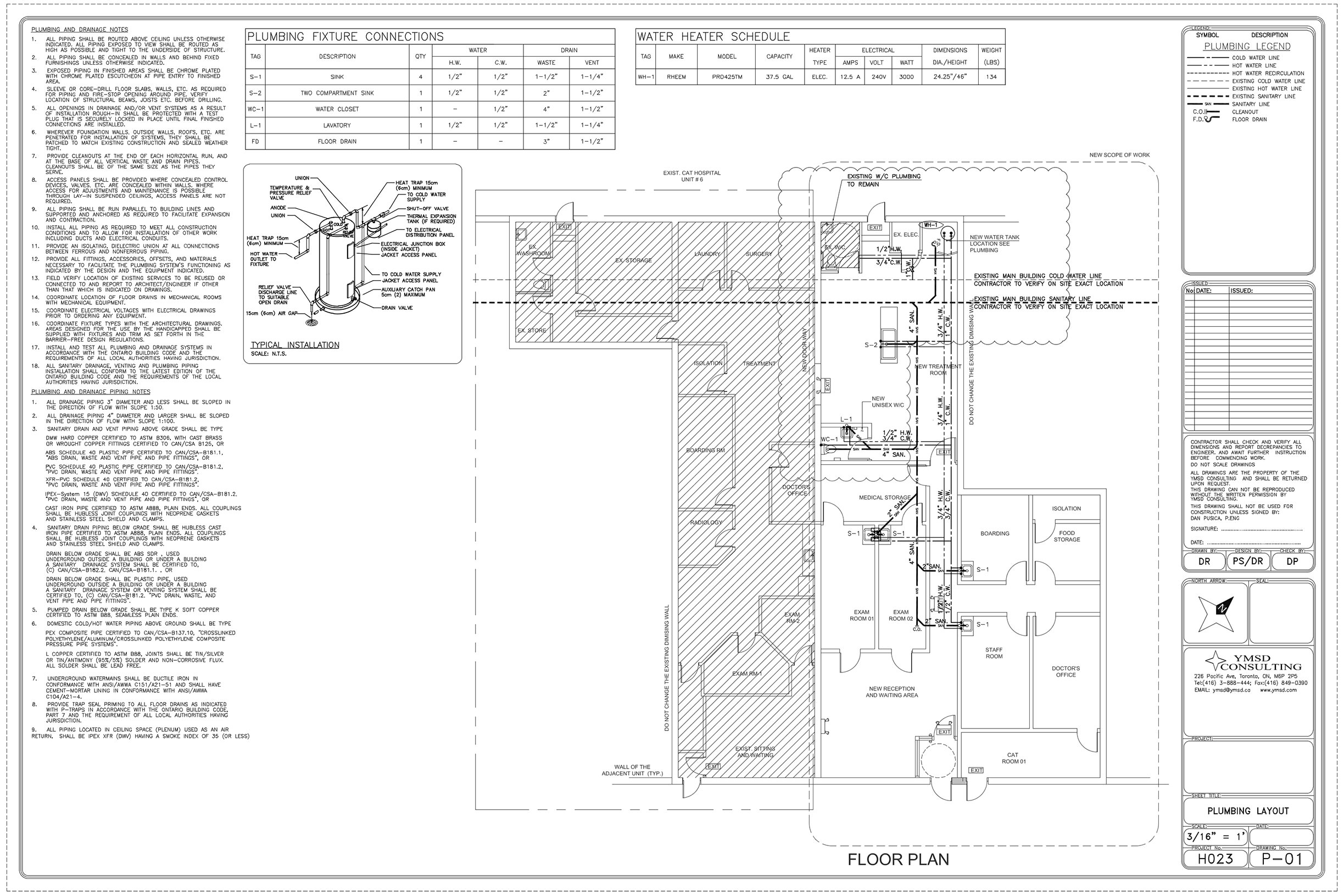 Hvac Design In Toronto Ymsd Consulting Drawings Pictures Ymsd1 Mini Ymsd2
